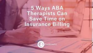 ABA Insurance Billing Tips